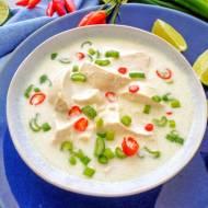 Zupa kokosowa z kurczakiem (Zuppa speziata al cocco con pollo)