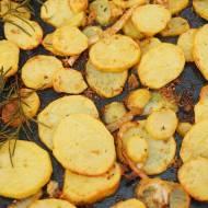 Pieczone talarki ziemniaczane i sposób na pyszne frytki
