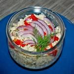 """Cottage salad"" pyszna sałatka"