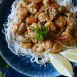 Krewetki po tajsku w sosie curry, czyli pomysł na romantyczną kolację walentynkową