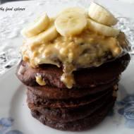 Pancakes czekoladowo - bananowe
