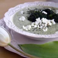 Zupa brokułowa z fetą