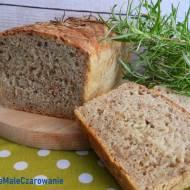 Chleb na zakwasie z rozmarynem