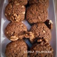 Ciasteczka kakaowe z mąki owsianej