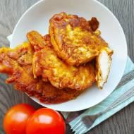 Filety z kurczaka w cieście naleśnikowym