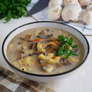 Jeszcze bardziej pieczarkowa zupa pieczarkowa. Zawsze stosujemy ten trik. PRZEPIS