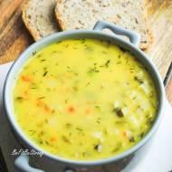 Zupa z kiszonych ogórków na bogato FIT