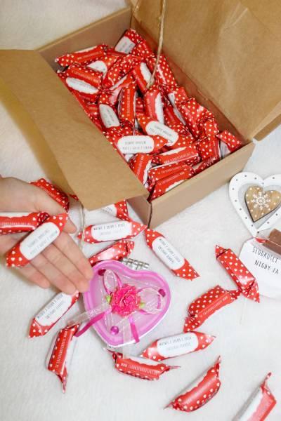 Słodki prezent na Dzień Zakochanych i inne okazje