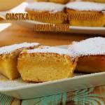 Ciastka z kremem cytrynowym lemon curd