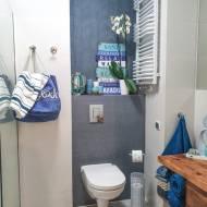 Marynistyczna łazienka – efekt finalny!