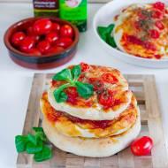 Mini pizze pszenno-orkiszowe (pizzerinki)