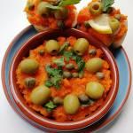Tunezja - Pastosałatka z marchewki (Ommok houria)