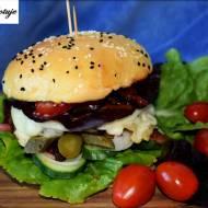Domowe Burgery z Mięsem Wołowym