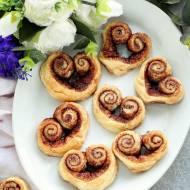 Serduszka z cynamonem – ciastka francuskie na Walentynki