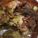 Garnek rzymski z mięsiwem