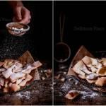 Pieczone faworki / Baked brushwood