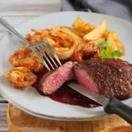 Minutowy stek wołowy z patelni jak w amerykańskiej knajpie. PRZEPIS