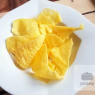 Chipsy serowe (keto, dieta optymalna)