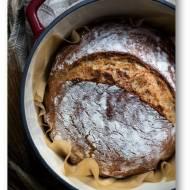 Drożdżowy chleb z garnka – orkiszowy z kuskusem