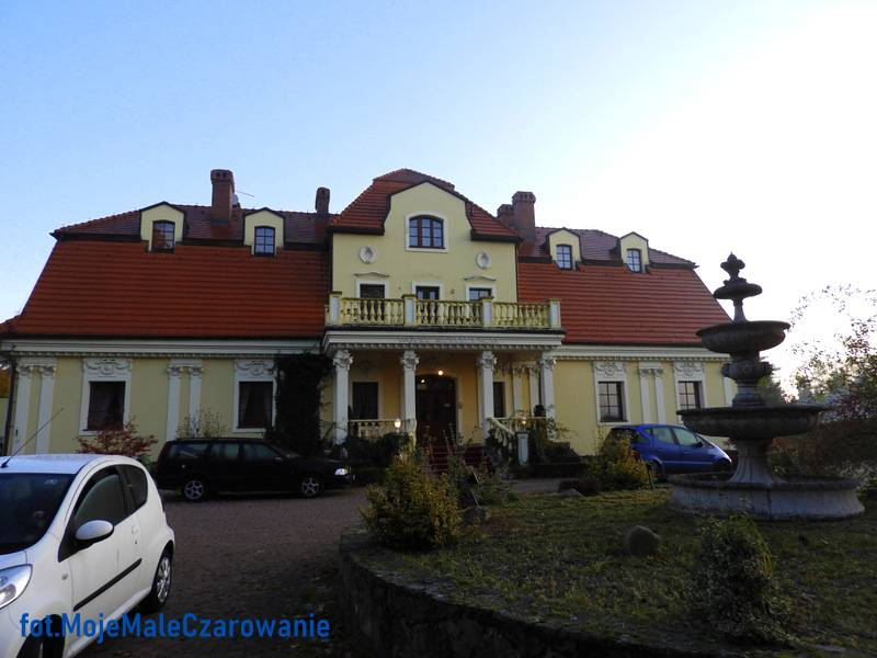 Pałac w Orzesze - Woszczyce woj. śląskie