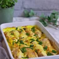 Filet z kurczaka w porach w sosie curry
