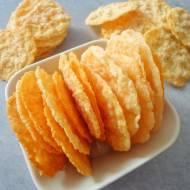 Parmezanowe chipsy (Chips di parmigiano)