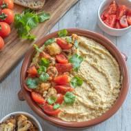 Hummus z pieczonym kalafiorem