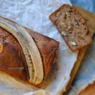 Pełnoziarnisty chlebek bananowy