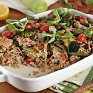 Zapiekanka ryżowa bez laktozy bezglutenowa