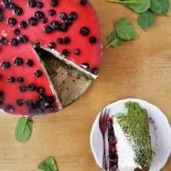 Ciasto Arbuz / 'Watermelon' Spinach Cake
