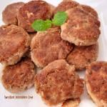 Kotleciki z mięsa z rosołu