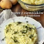 Purée z ziemniaków. Ziemniaczane purée