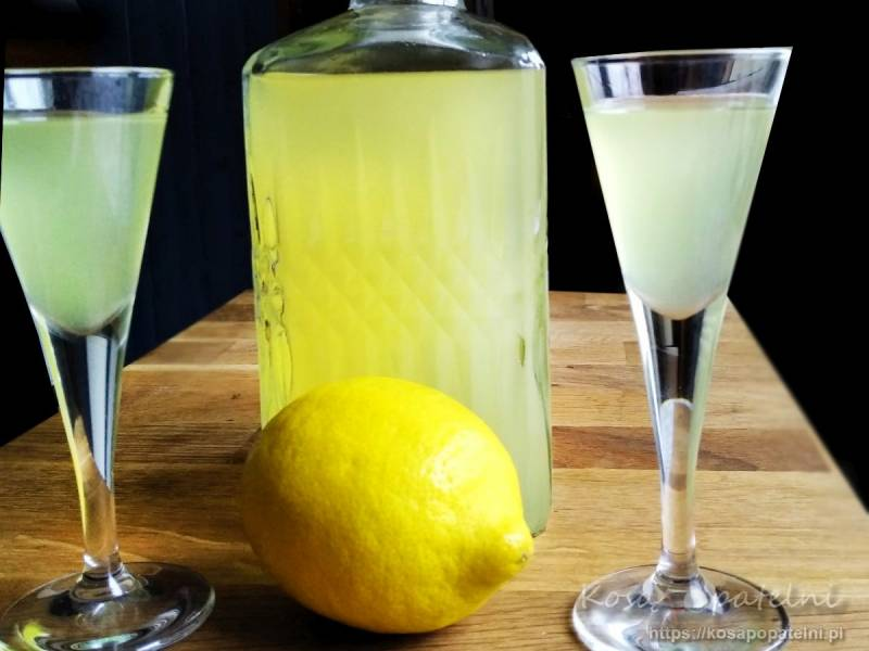 Cytrynówka – nalewka lub wódka, do wyboru