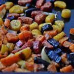 Tęczowe pieczone warzywa...