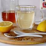 Woda z miodem i cytryną - zdrowotna petarda