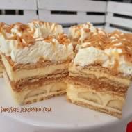 Ciasto Banatoffee bez pieczenia