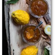 Marmolada cytrynowa, marmolada cytronowa –  tradycyjnie i z wolnowaru