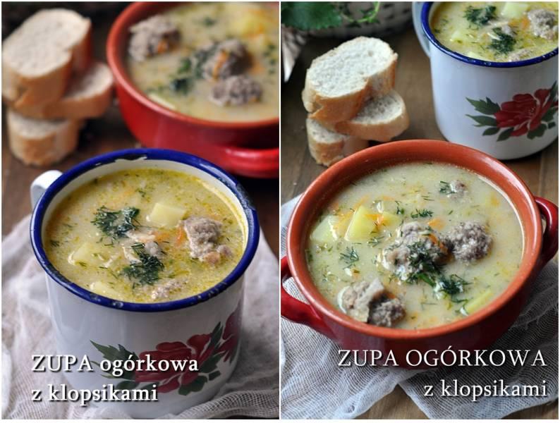 Jak ugotować najlepszą zupę ogórkową. Zupa ogórkowa z klopsikami.