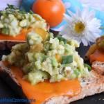 Kanapki z Mimolette i guacamole