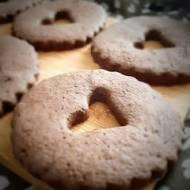 Kakaowe proste ciasteczka