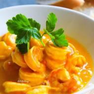 Najlepsze krewetki w sosie mango chili