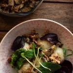 Pyzy ziemniaczane z grzybami