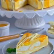 Sernik z mango – bez pieczenia