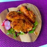 Soczysty kurczak pieczony w cebuli