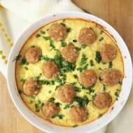Zapiekanka ziemniaczana z klopsikami / Potato Meatball Casserole