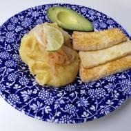Dominikana - Dominikańskie śniadanko (Mangú con los tres golpes)