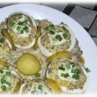 Jajka faszerowane pieczarkami