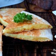 Quesadilla z ziemniakami i serem