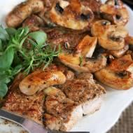Stek z karkówki (marynowanej w maślance)