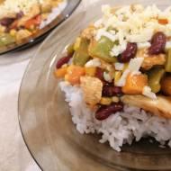 Kurczak z warzywami po meksykańsku